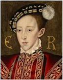 Edward, later King of England, Henry VIII's fourth child and second son