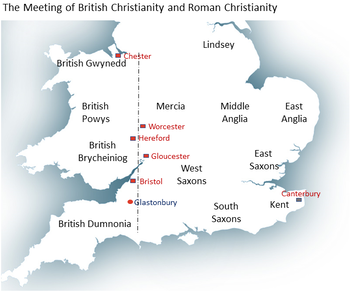 Picture The Meeting of British Christianity and Roman Christianity
