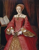 Picture. Henry VIII family tree.Elizabeth, 2nd legitimate child