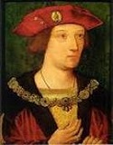 Picture.  Henry VIII family tree. Arthur Prince of Wales