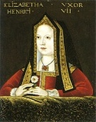 Picture. Henry VIII family tree.Mother Elizabeth of York